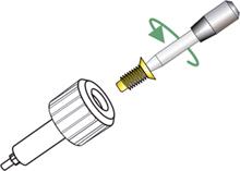 Tecnica quirurgica implante dental paso 9 paso tornillo