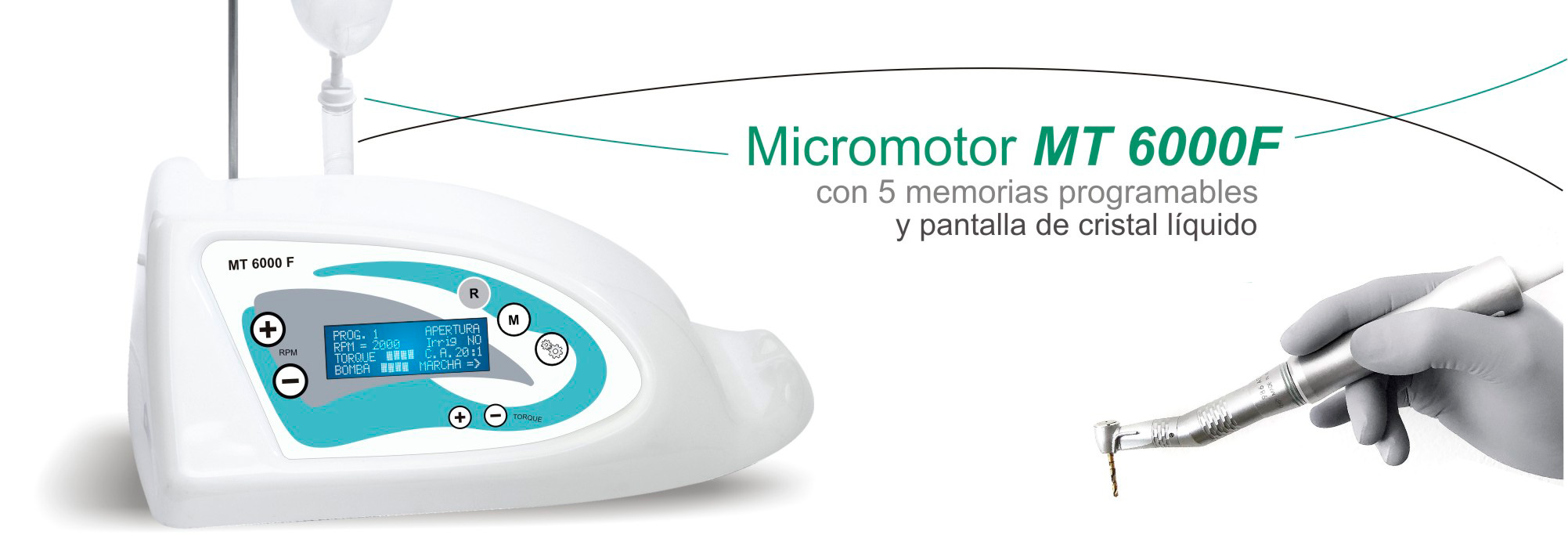 Micromotores implantes dentales